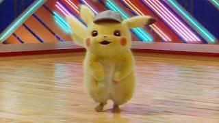 Detective Pikachu Dancing To Throwbacks #pikachu #detectivepikachu #detectivepikacumovie
