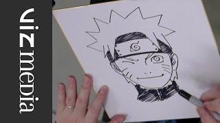 NARUTO: Masashi Kishimoto OFFICIAL Creator Sketch Video at Jump Festa 2014