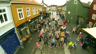 Alexandra Joner   Flashmob Trondheim