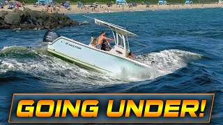 BOATS CROSS THE MOST DANGEROUS INLET IN FLORIDA !!   Boats at Haulover Inlet