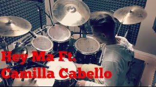 Pitbull & J Balvin - Hey Ma Ft. Camila Cabello Drum Cover ( The Fate Of The Furious )