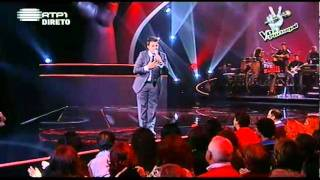 "4ª Gala A Voz de Portugal - Ricardo Oliveira - ""Everything"""