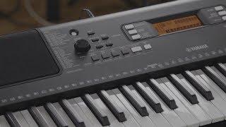Yamaha PSR E363 Demo