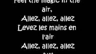 Magic system lever les main en l'air lyris