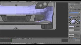 Porsche Carrera GT Modeling Timelapse #2 - Blender 2.61