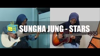 FASYA X LIFA LATIFAH - Sungha Jung - Stars - Guitar Cover