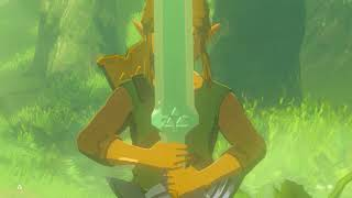 Botw: Pulling The Giant Master Sword  (Mod By zerq)