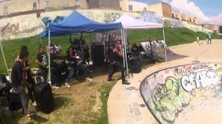 Acidez - Sin Control  @skate contest ( SKATE PARK)