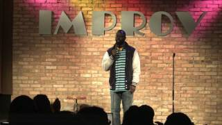 Comedian Lamar Jones live at Arlington Improv snippet