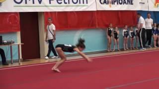 "Catalina Munteanu - CSSG Focsani - FX - Cupa ""OMV Petrom"" 2016"