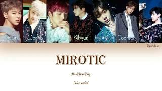 Monsta X(몬스타엑스) Mirotic(TVXQ) Cover Han|Rom|Eng Lyrics