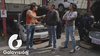 Nosotros los guapos | El Vitor y Albertano consiguen trabajo de mecánicos