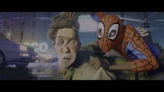 Spider-Man: Into The Spider-Verse – Prowler + Peter Parker Grave Scenes [4K UHD]