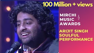 Arijit Singh with his soulful performance | 6th Royal Stag Mirchi Music Awards | Radio Mirchi width=