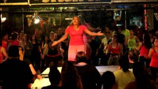 """Melody Zlove Mendoza's Zumba choreo to """"Mi sombrero sabanero"""" by Aniceto Molina at ZIDC"""