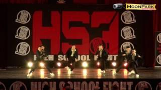 20161225 High School Fight Vol.12 高校街舞大賽~台中一中 E.N.D. Crew(第一名)