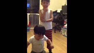 Psy Gentleman with Kyle and Kyan