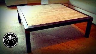 ► DIY : Fabriquer une Table Basse Style Industriel/ Loft ( Making coffee table )