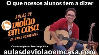 Aulas de violão - O curso só é bom se os alunos aprendem - Depoimento de  Clara e Flávia