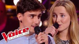 The Voice 2016 | Louisa Rose VS Thibaud - Est-ce que tu m'aimes (Maître Gims) | Battle