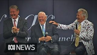 Former PM Bob Hawke shares joke which captures 'Australian irreverence' | ABC News