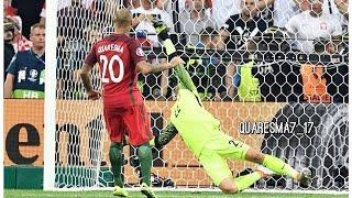 Penal de Ricardo Quaresma Portugal - 1:1 Poland (Penales 5 - 3) Euro 2016