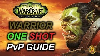 7.3.5 FURY WARRIOR PvP Guide: ONE SHOT Macro [Bloodbath Burst Cleave]