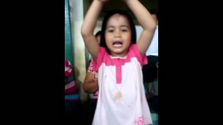 Hasia singing Ako Anak sa Diyos