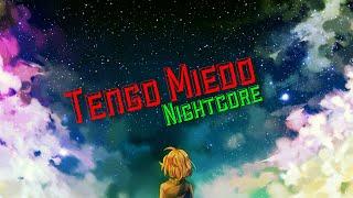 Piter-G Ft. Cyclo / Tengo Miedo Nightcore
