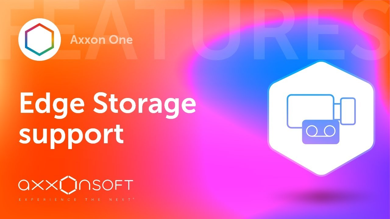 Support for edge storage