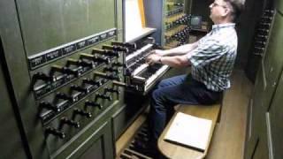 "Handel Ouverture ""Fireworks"" Schnitger-organ Groningen Martinikerk"