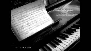 Heart Like Yours - Willamette Stone (Piano Version COVER) by Stephen Weingand