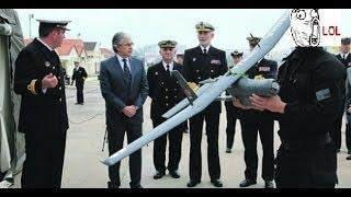 FAIL na apresentação de drone da Marinha Portuguesa