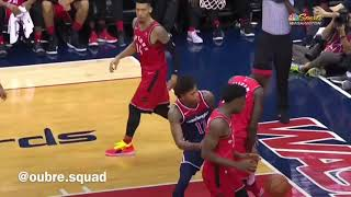 *must watch* Kelly Oubre Jr. nasty putback on Pascal Siakam!! Mini Mix