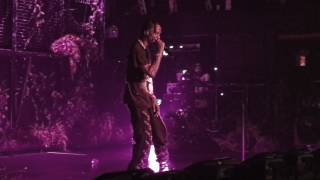 Travis Scott - Birds Eye View Tour - Terminal 5 NYC 04.30.17 - 90210 Freestyle