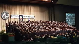 AS WE FLY, SOAR HIGH - Graduation Song (June 6, 2019)