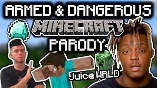 "JUICE WRLD - ""ARMED & DANGEROUS"" MINECRAFT PARODY"