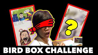 🐦Taking on the Bird Box challenge -Drawing EZ Life Slot Jackpots + Wicked Penny +MORE blindfolded🎰