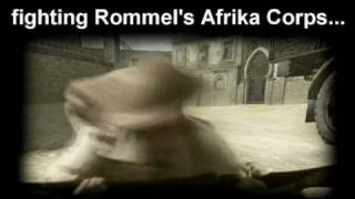 ww2 Desert Rats war movie trailer