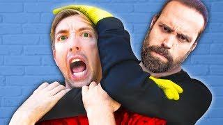 CWC vs BEST FRIEND BATTLE ROYALE Challenge to Learn if Hacker PZ9 is Justin - Hide and Seek 24 Hours