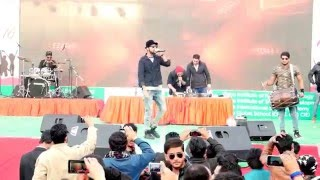 Best Performance of Raftaar I Raftaar Live 2016  I @Vidya Knowledge Park