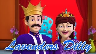 Lavender Blue Dilly Dilly Lavender's Green | Nursery Rhymes For Kids