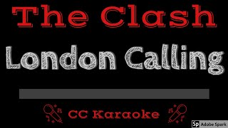 The Clash   London Calling CC Karaoke Instrumental