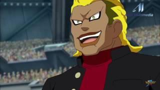 Buddy le pega a arion!! (Inazuma Eleven Go Galaxy)