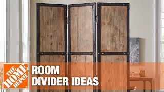 Click to see how to use room dividers.