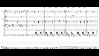 Icarus - Bastille sheet music lyrics/piano/vocals/violin/drums/bass guitar cover tutorial