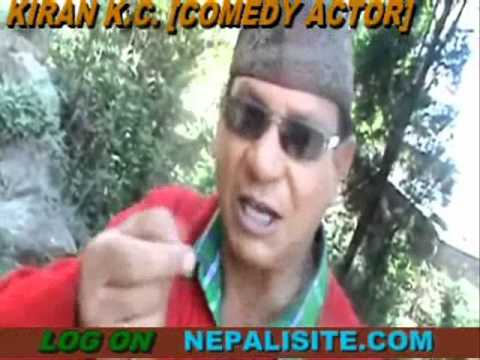 Nepali New year 2068 greetings by Actor,Comedian Kiran KC