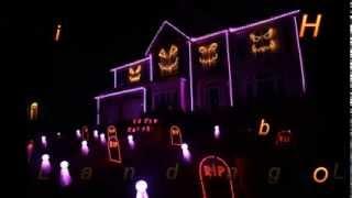 Halloween Dubstep Music Lights