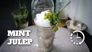 Como Fazer Mint Julep (Rapidinha) | E Tome Drink!