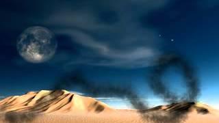 deserto noturno+ som